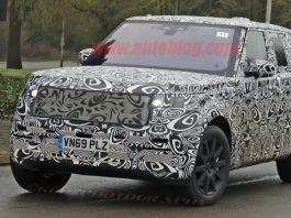 Новый Range Rover Sport 2020 - шпионские фото.