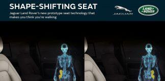 Технология имитации ходьбы в сидениях Ленд Ровер